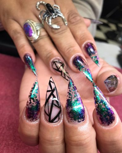 40-best-coffin-nails-designs-you-want-to-make-2019