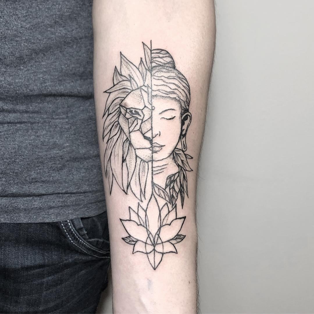 best-trendy-lotus-flower-tattoos-2019